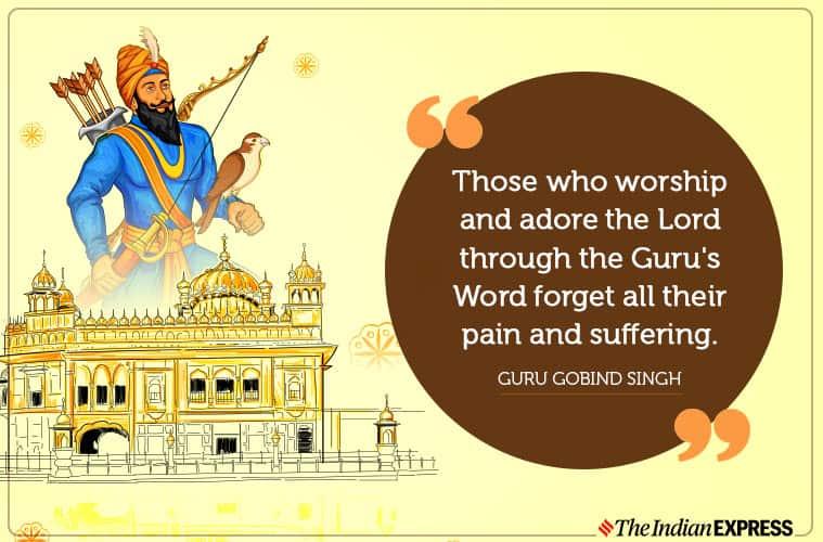 Guru Gobind Singh death anniversary, guru gobind singh, indianexpress.com, indianexpress, sikhs, guru of the sikhs, guru granth sahib, gurudwaras,