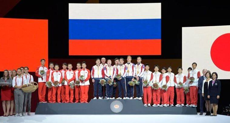 Russia win first ever team title at gymnastics worlds