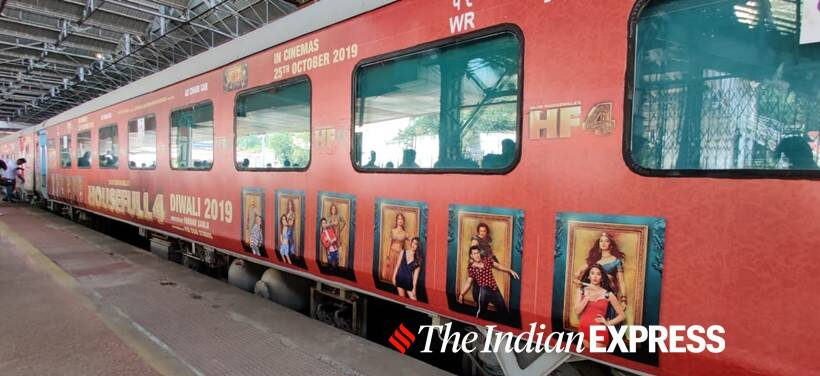 housefull 4 train promotions