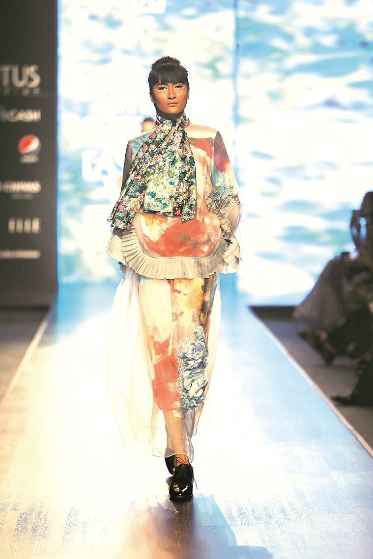 India Fashion Week, India Fashion Week Delhi, Delhi India Fashion Week, India Fashion Week designers, Designers at India Fashion Week, Rohit Bal, Fashion, Indian Express