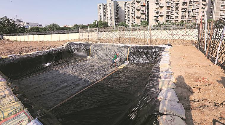delhi idol immersion, delhi idol immersion artificial ponds, delhi artificial ponds, yamuna, delhi news