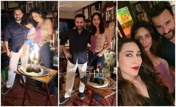 Inside Kareena Saif wedding anniversary party
