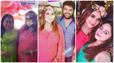 Inside the baby shower of Kapil Sharma wife Ginni Chatrath