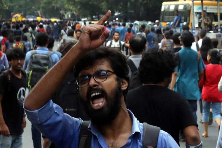 jadavpur University scuffle, babul Supriyo, Bengal BJP, BJP's Bengal plans, ABVP-Left scuffle at Jadavpur University, India news, Indian express