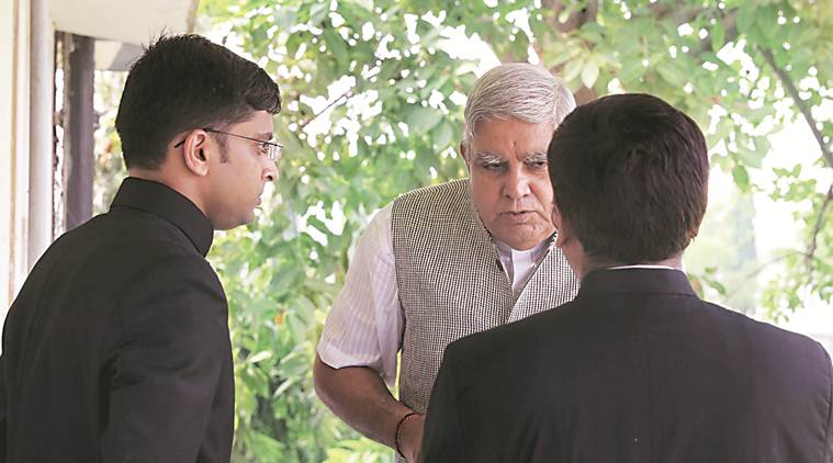 Top officials absent, admin worked to frustrate my visit's objective: Jagdeep Dhankhar