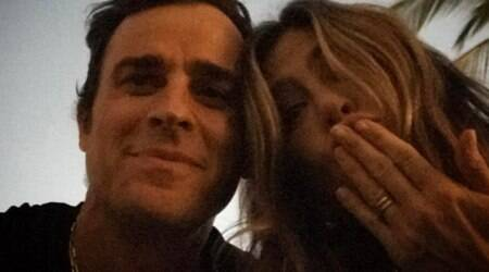 Justin Theroux on Jennifer Anniston instagram debut