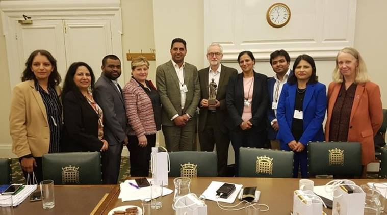 'Not authorised to speak': Congress after its UK chapter discusses Kashmir with Jeremy Corbyn