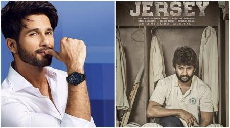 Shahid kapoor in jersey hindi remake