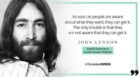 john lennon, indianexpress.com, indianexpress, 79th birthanniversary, john lennon at 79, Beatles, Beatles founder, happy birthday john lennon, life positive, good morning messages, inspiring video john lennon, who was john lennon, Lennon Ono, beatles rock band, john lennon october 9 birthday,