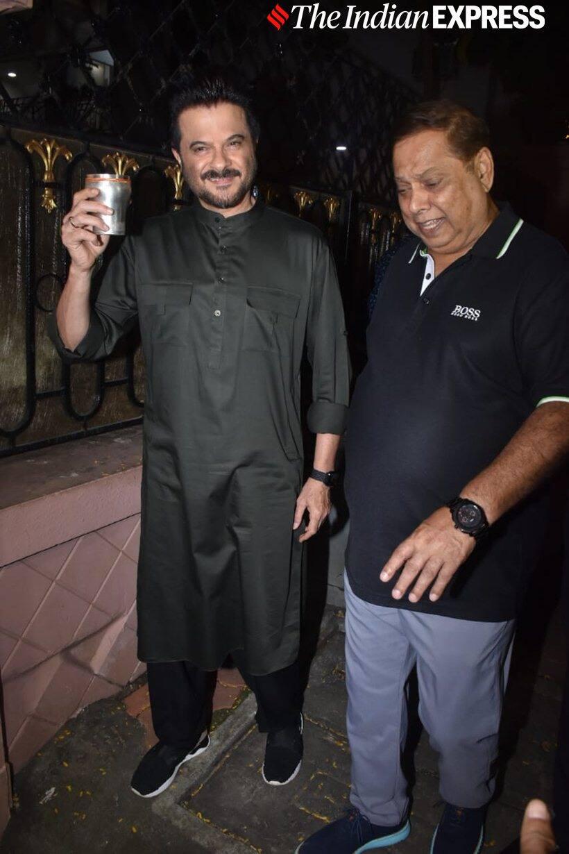 Anil Kapoor with David Dhawan