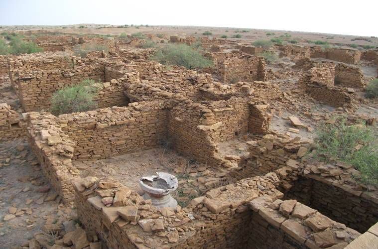 kuldhara, most haunted places in the world, halloween, indian express, indian express news