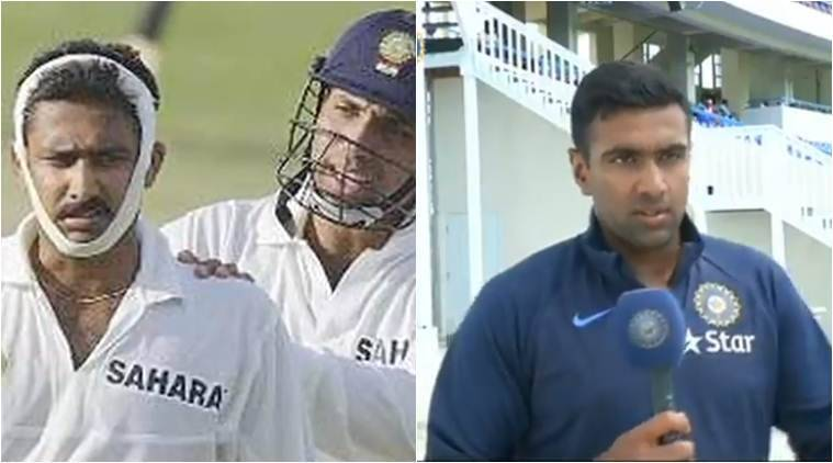 On Anil Kumble's birthday, Ashwin, Rahane recall his historic spell with bandaged jaw
