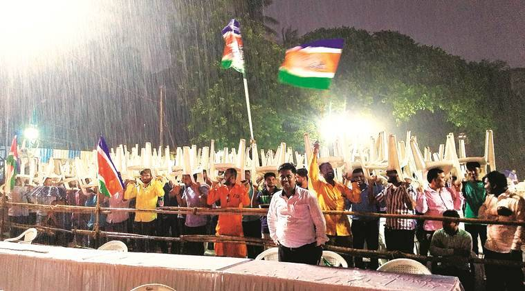 Rain washes out MNS rally in Pune