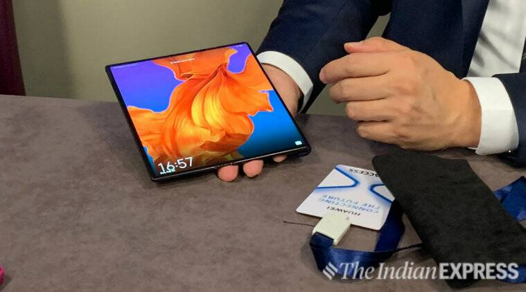 Huawei to start selling mate x foldable phone from next month in china