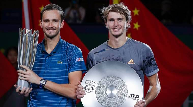 Danill medvedev mauls alexander zverev to lift shanghai masters title