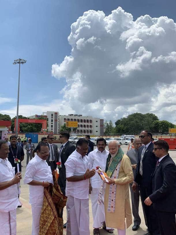 Modi-Xi meeting, Modi-Xi meeting photos, Modi Jinping Chennai pics, Mahabalipuram, Mahabalipuram photos, Xi Jinping india visit, Modi Mahabalipuram visit, modi in Mahabalipuram, Mamallapuram, indian express news