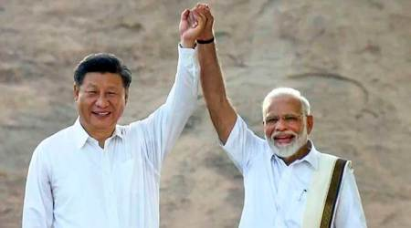 Modi Xi meeting, Modi Xi summit, Xi Jinping in India, Xi Jinping in Nepal, Nepal Xi Jinping visit, Xi Jinping India visit, Xi Jinping Nepal visit, India news, Indian Express
