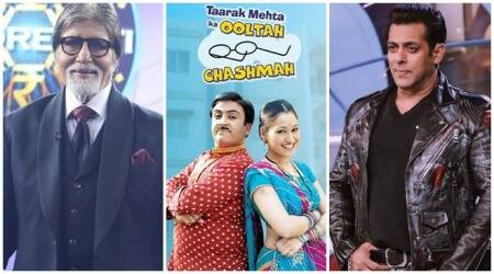 Most watched Indian television shows Taarak Mehta Ka Ooltah Chashmah kbc 11 bigg boss 13