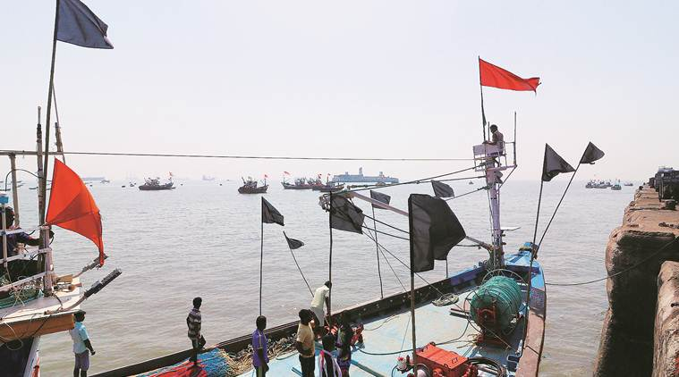 Waters around Mumbai become refuge for stranded fishermen