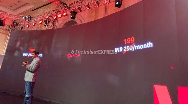 Netflix says its Rs 199 mobile only plan in India had 'better' retention