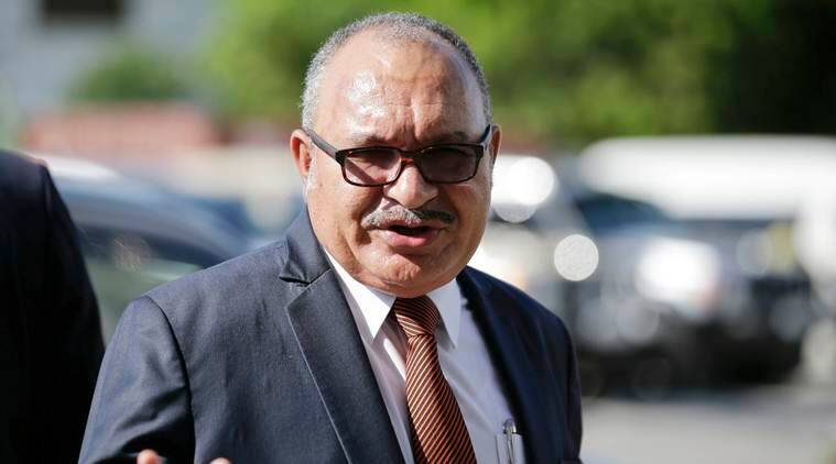 Papua New Guinea police seeking to arrest ex-Prime Minister Peter O'Neill