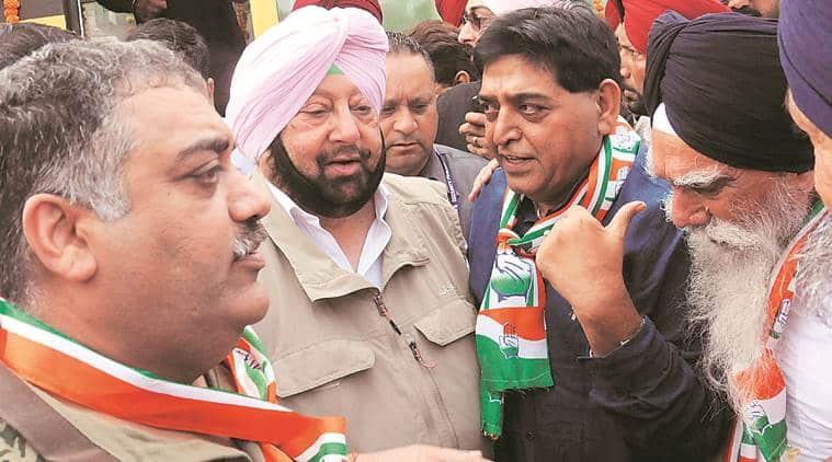 Paramjit Singh Raipur, Paramjit Singh Raipur joins conress, sad leader joins congress, punjab news, indian express
