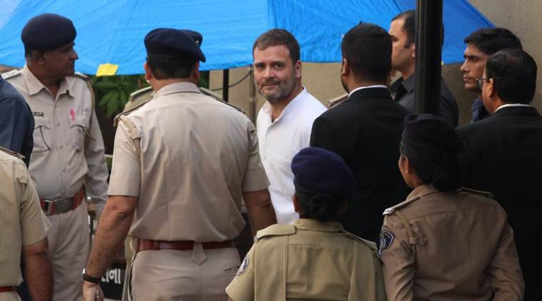 Rahul Gandhi appears before Surat court in defamation case