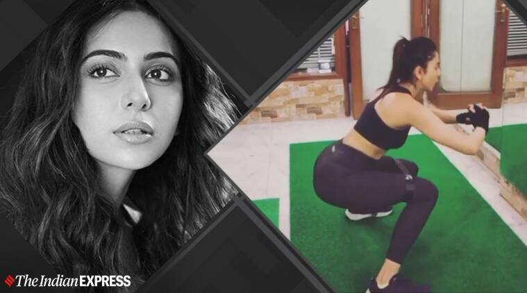 rakul preet singh, celeb fitness goals, celeb fitness, rakul preet singh stud training, Harrison James MFT, what is stud training, indianexpress.com, indianexpress,