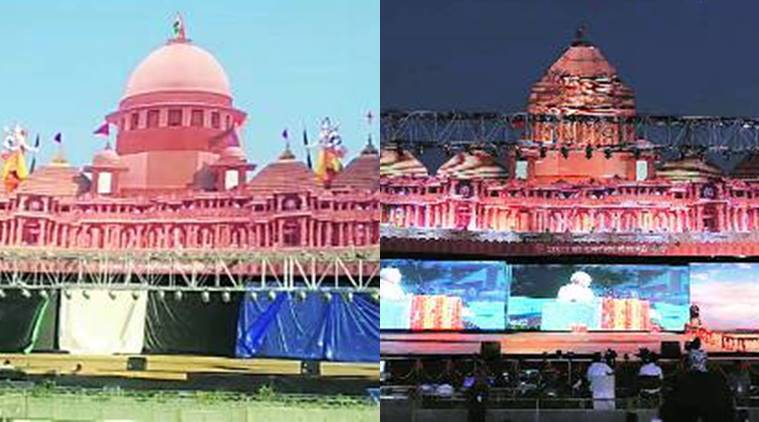 ramlila maidan, pm modi at ramlila maidan, ayodhya temple, ramlila in delhi, ayodhya dispute, ram mandir, delhi city news