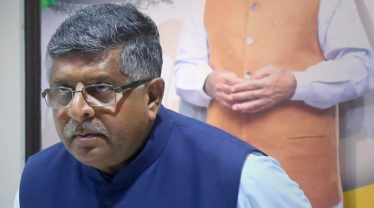 Ravi Shankar Prasad withdraws 'Rs 120 crore a day' comment over economy