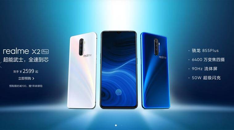 Realme X2 Pro with Snapdragon 855+, 90Hz display launched in China