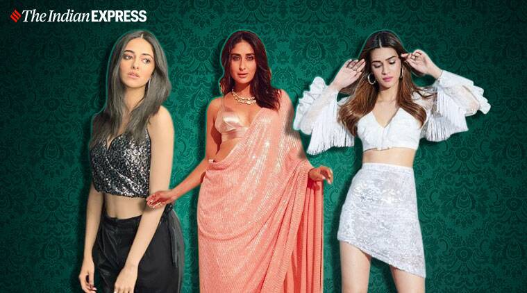 sequin look, festive trends, tyling tips for festive season, festive tips for women, indian express