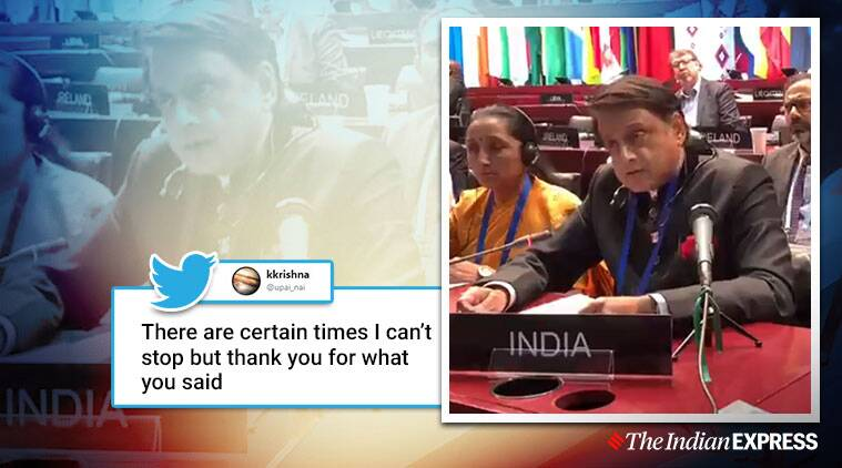 'Pakistani delegation now searching for a translator': Netizens laud Shashi Tharoor's reply on Kashmir