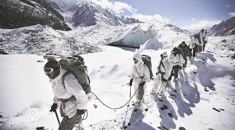 Siachen avalanche, siachen glacier, Siachen news, Indian Army, India news, 4 soldiers killed in Siachen avalanche
