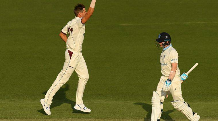 Steve Smith dismissed for duck by USA bowler