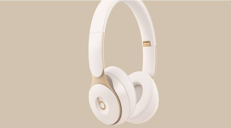 Apple S Beats Solo Pro On Ear Headphones Have Active Noise Cancellation Technology News The Indian Express
