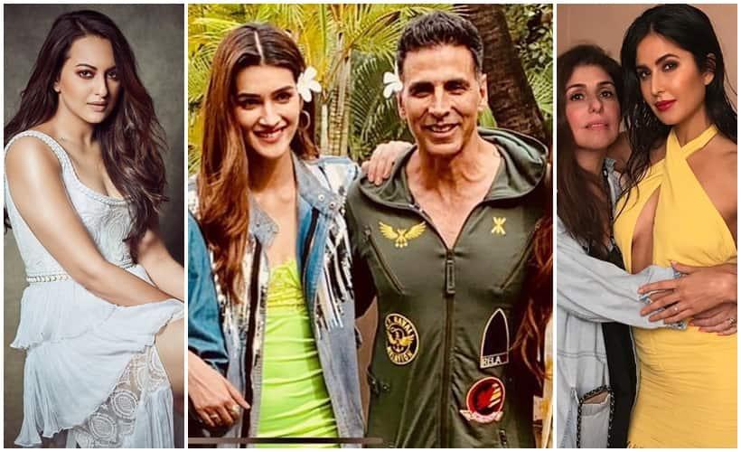 Sonakshi Sinha, Akshay Kumar, Katrina Kaif, Celebrity social media photos