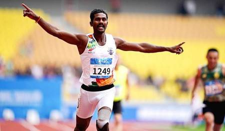 anandan gunasekaran, LoC blade runner, paralympics, World Military Games, triple gold medal, sports news, indian express