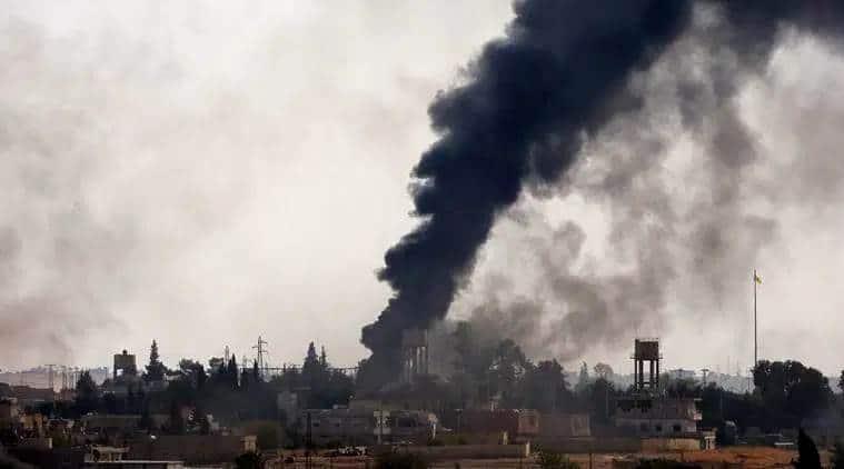 Turkey Syria war, Syria Turkey news, Trump Syria, Syria Turkey invasion, Kurds fighter Syria, Turkey latest news, Syria latest news, indian express news