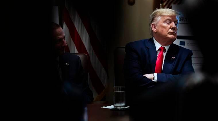 Donald Trump, U.S. House of Representatives, Donald Trump written testimony, Robert Mueller, Robert Mueller's federal investigation, House Lawyers, Russian interference in 2016 election, U.S. Attorney General, William Barr, WikiLeaks,