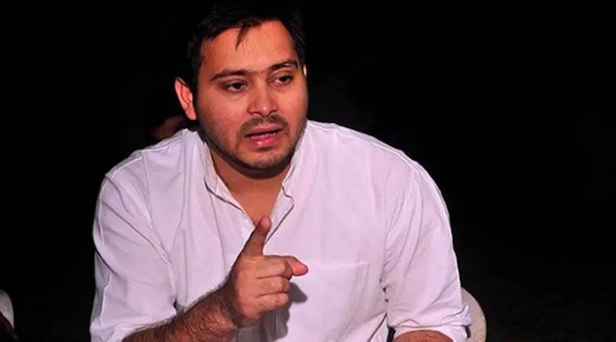 Tejashwi Yadav, Bihar election, Bihar news, Patna news, Indian express news