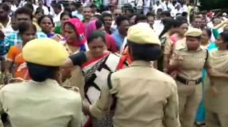 TSRTC, Telangana transport strike, Telangana transport protests, TSRTC strike, Telangana protests, KCR