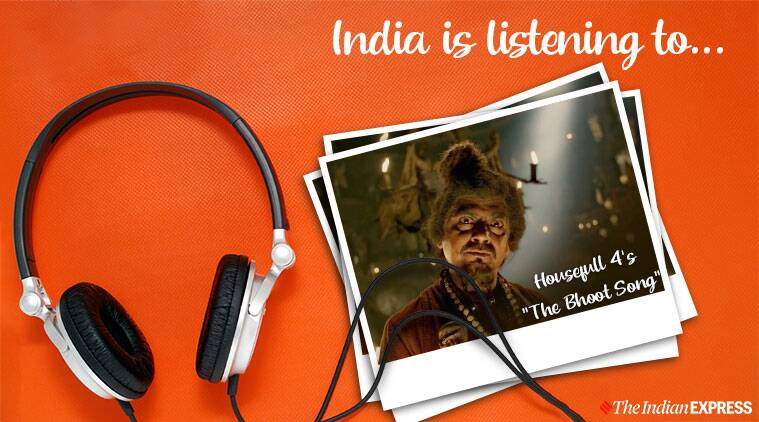 india is listening to the bhoot song