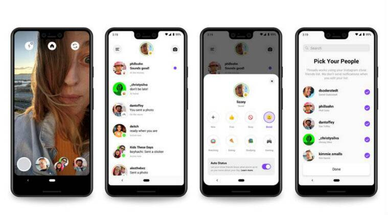 Threads from Instagram launched, lets you actively connect with your close  friends | Technology News,The Indian Express