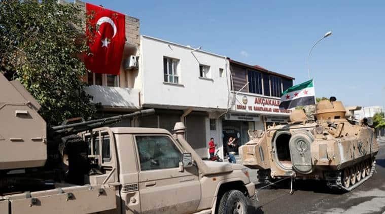 Turkey Syria, Syria Tukey news, Donald Trump, Turkey ceasefire Syria, Syrian rebels Turkey, Islamic States Syria, Indian Express news, World news
