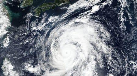typhoon hagibis hits japan,typhoon hagibis, typhoon hagibis japan, japan typhoon, japan natural disasters, indian express, world news