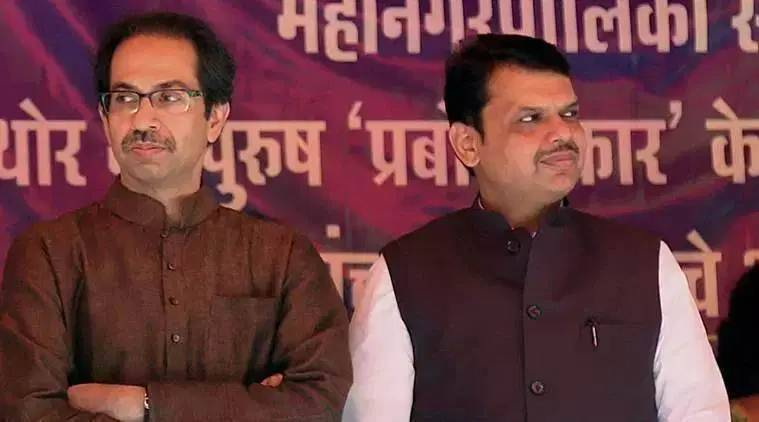 BJP shiv sena fight, saamana hits out at bjp, maharashtra assembly elections results 2019, maharashtra govt formation, devendra fadnavis, uddhav thackeray