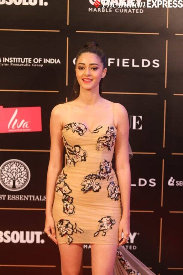 ananya panday at vogue women of the year awards 2019
