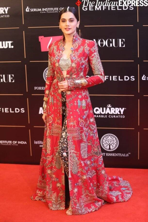 Taapsee pannu at vogue women of the year awards 2019