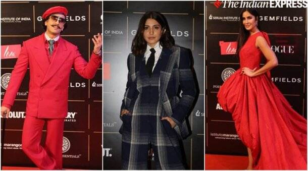vogue women of the year 2019 ranveer singh anushka sharma and katrina kaif